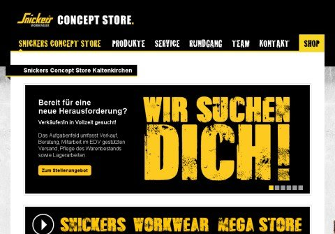 snickers-onlineshop.net thumbnail