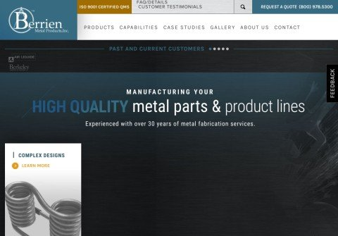 berrienmetalproducts.net thumbnail