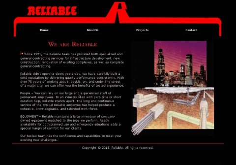 reliablecontracting.net thumbnail