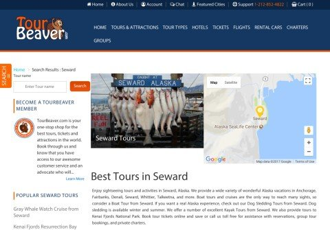 whois sewardtours.net