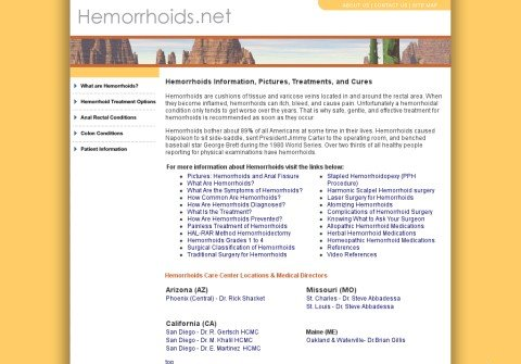whois hemorrhoids.net