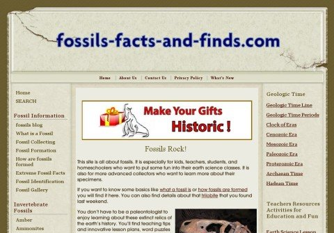 fossils-facts-and-finds.net thumbnail