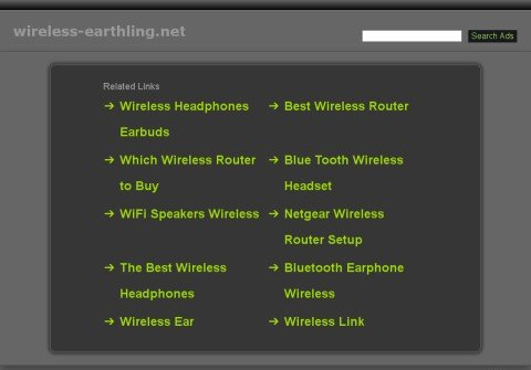 wireless-earthling.net thumbnail