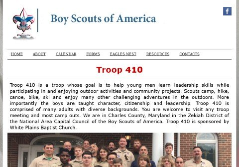 troop410.net thumbnail