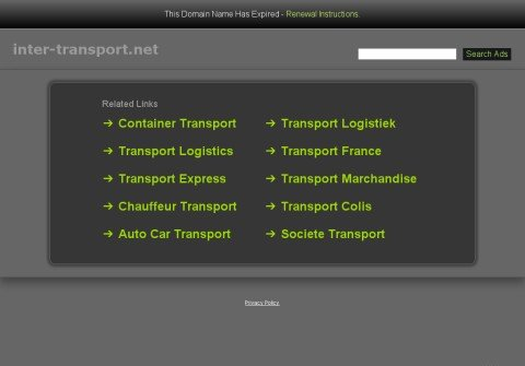 inter-transport.net thumbnail