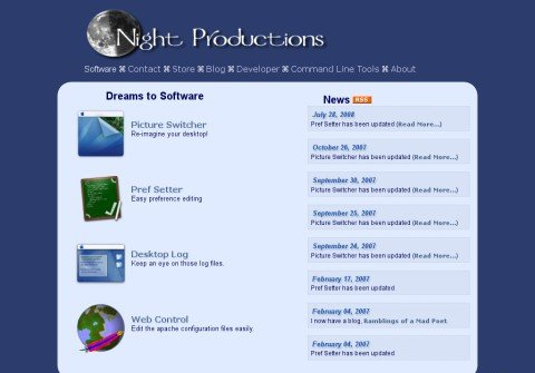 nightproductions.net thumbnail