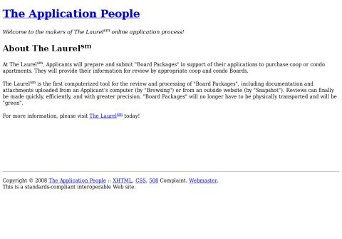 whois theapplicationpeople.net