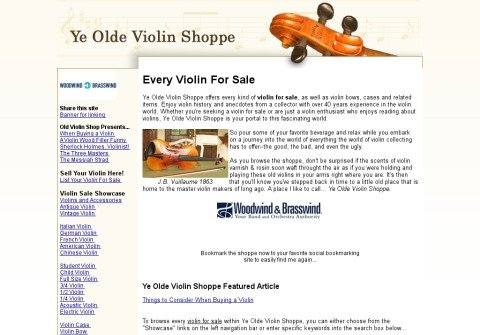 violin-for-sale.net thumbnail