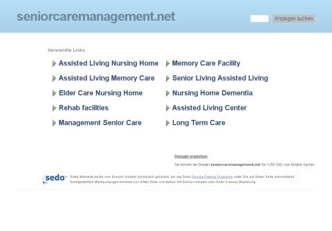 whois seniorcaremanagement.net
