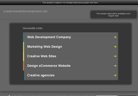 creativewebdevelopment.net thumbnail