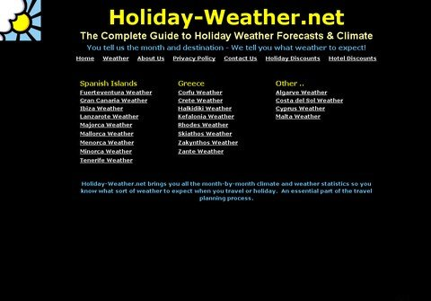 holiday-weather.net thumbnail