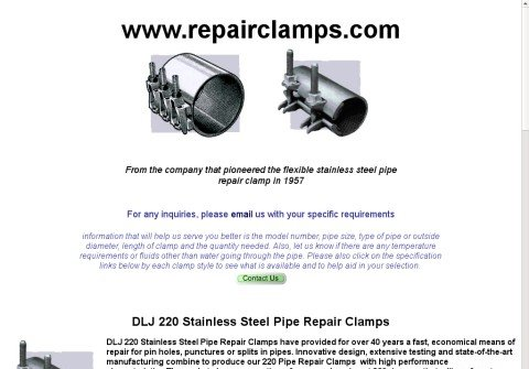 pipeclamp.net thumbnail