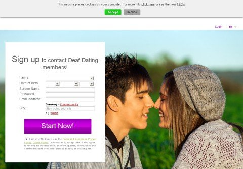 deaf-dating.net thumbnail