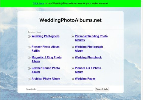 weddingphotoalbums.net thumbnail