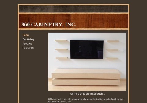 360cabinetry.net thumbnail