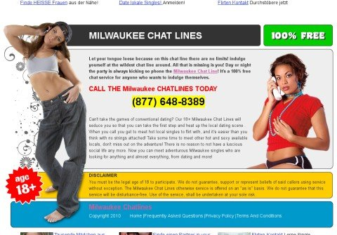 milwaukeechatlines.net thumbnail