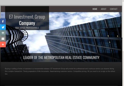 e7investmentgroup.net thumbnail
