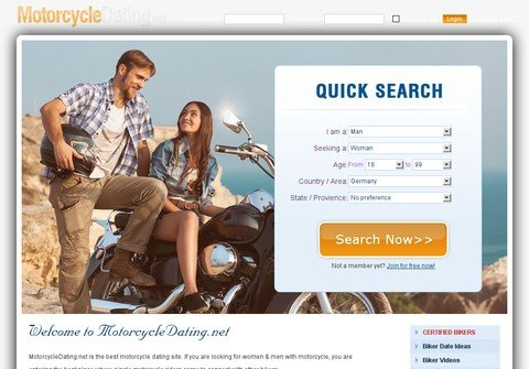 motorcycledating.net thumbnail