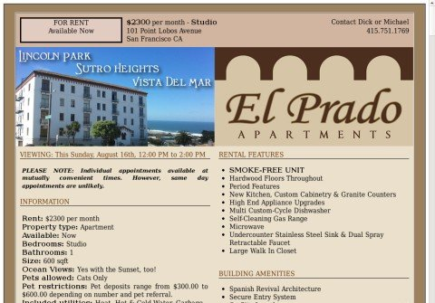 elpradoapartments.net thumbnail