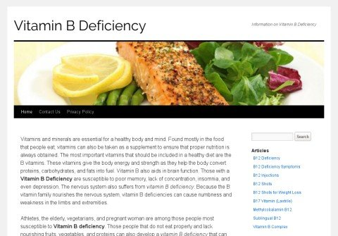 vitaminbdeficiency.net thumbnail