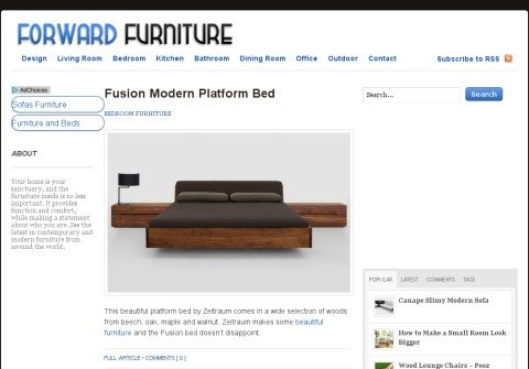 forwardfurniture.net thumbnail
