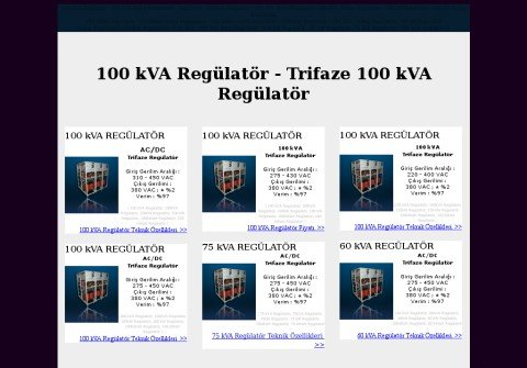 100kvaregulator.net thumbnail