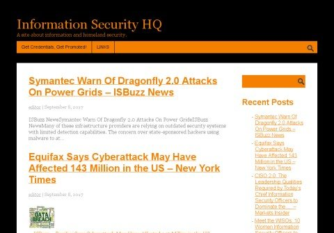 informationsecurityhq.net thumbnail