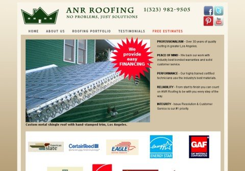 anrroofing.net thumbnail
