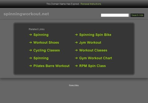 spinningworkout.net thumbnail