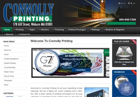 connollyprinting.net thumbnail