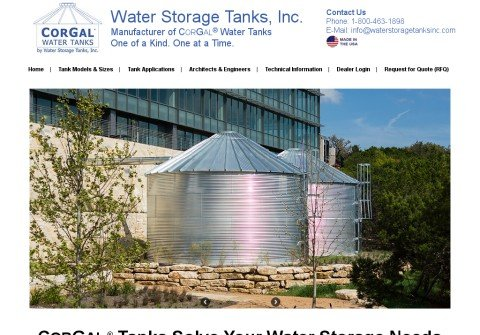 corrugatedwatertanks.net thumbnail