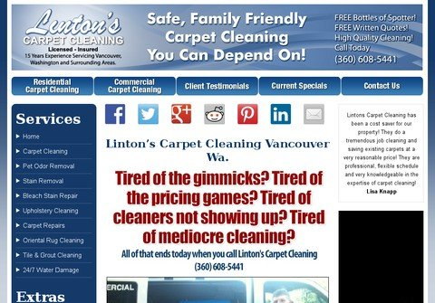 vancouverwacarpetcleaners.net thumbnail