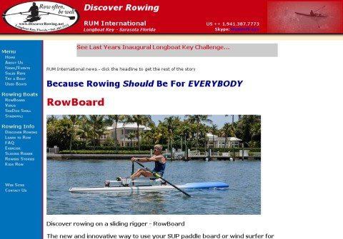 discoverrowing.net thumbnail