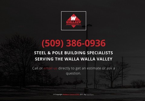 wallaceconstruction.net thumbnail
