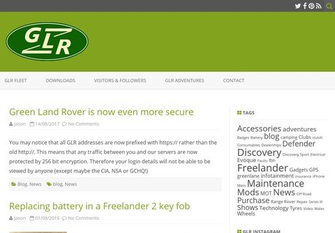 whois greenlandrover.net