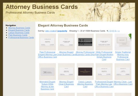 attorneybusinesscard.net thumbnail