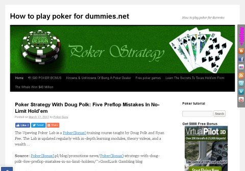 how-to-play-poker-for-dummies.net thumbnail