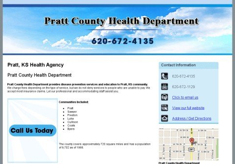 whois prattcountyhealthdept.net