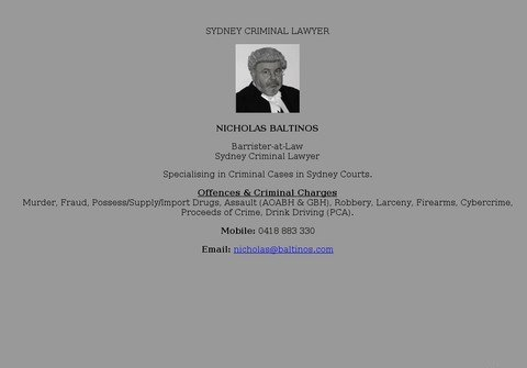 sydney-criminal-lawyer.net thumbnail