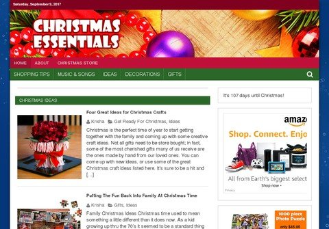 christmasessentials.net thumbnail