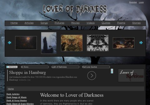 whois loverofdarkness.net