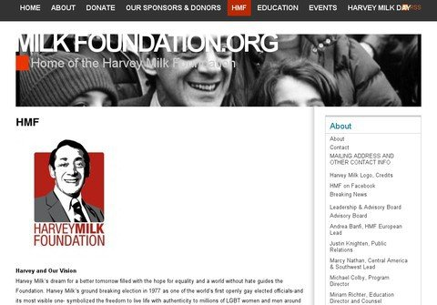 harveymilkfoundation.net thumbnail