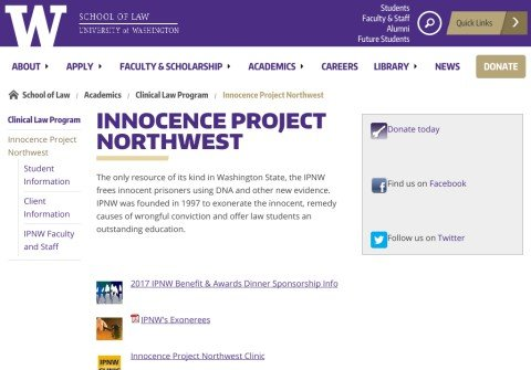 innocenceprojectnw.net thumbnail