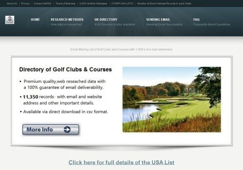 golfcoursesandclubs.net thumbnail