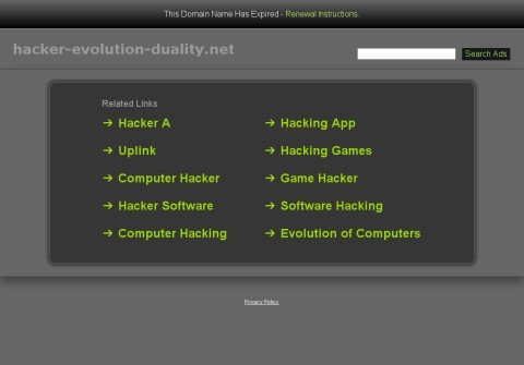hacker-evolution-duality.net thumbnail