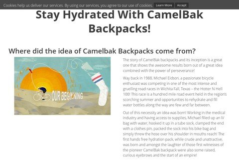 camelbakbackpacks.net thumbnail