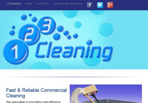 123cleaning.net thumbnail