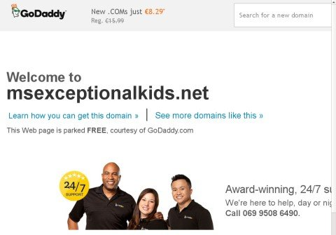 msexceptionalkids.net thumbnail