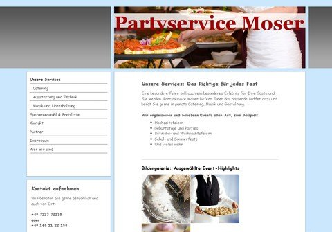 partyservice-moser.net thumbnail