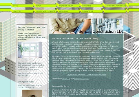 serpasconstruction.net thumbnail